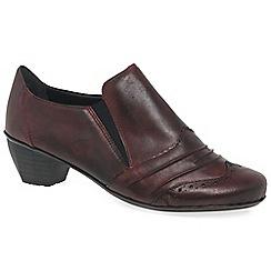 Rieker - Wine 'Odyssey' Womens High Cut Court Shoes