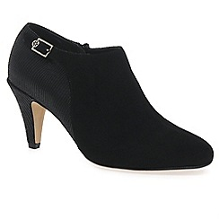 Van Dal - Black 'calvert' womens high cut court shoes