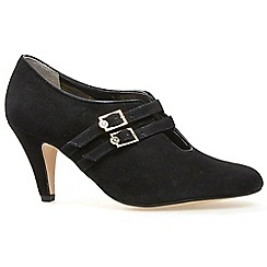 Van Dal - Black 'Bridewell' womens high cut court shoes