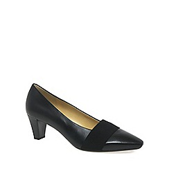 Gabor - Black 'Folky' Womens Court Shoes