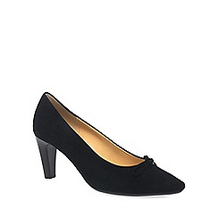Gabor - Black 'Forest' Womens Court Shoes