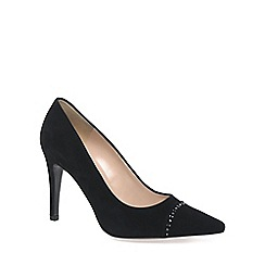 Peter Kaiser - Black 'Dora' Womens Suede Court Shoes