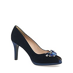 Peter Kaiser - Navy 'Erne' Womens Peep Toe Court Shoes