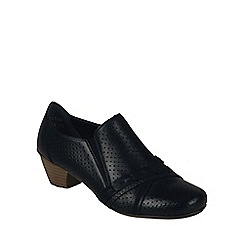 Rieker - Black 'Claire' Womens High Cut Court Shoes