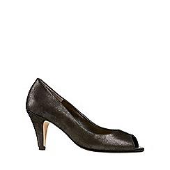Van Dal - Black 'Walsingham' Womens Open Court Shoes