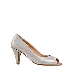 Van Dal - Silver 'Walsingham' Womens Open Court Shoes