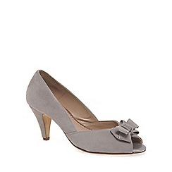 Van Dal - Beige 'Abbey' Womens Peep Toe Court Shoes