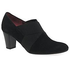 Gabor - Black 'Function' Womens High Cut Court Shoes