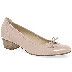 Gabor - Light pink 'islay' womens casual shoes