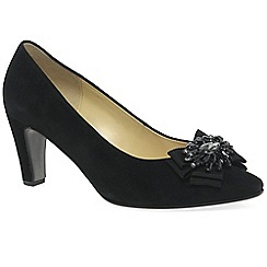 Gabor - Black 'Audience' womens dress court shoes
