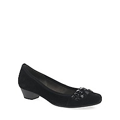 Gabor - Black 'Twang' Womens Dress Court Shoes