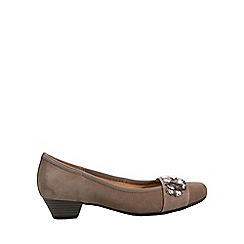 Gabor - Beige 'Twang' Womens Dress Court Shoes