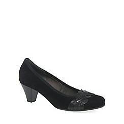 Gabor - Black 'Kiss' Womens Dress Court Shoes