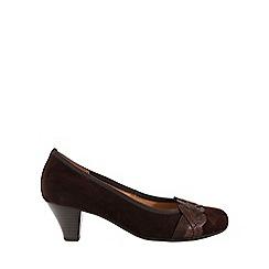 Gabor - Brown 'Kiss' Womens Dress Court Shoes
