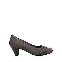 Gabor - Dark grey 'Kiss' Womens Dress Court Shoes