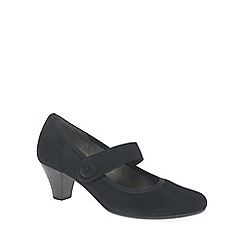Gabor - Near black 'Hansard' womens dress court shoes