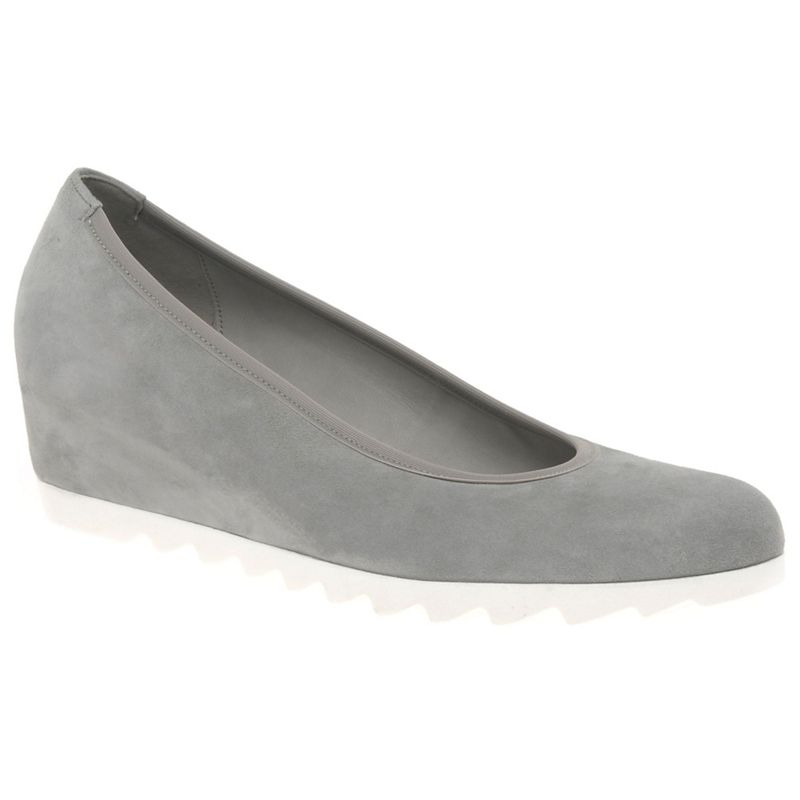 Womens Gabor Grey request Womens Modern Wedge Court Shoes,