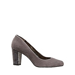 Van Dal - Grey 'Sassy' womens dress court shoes