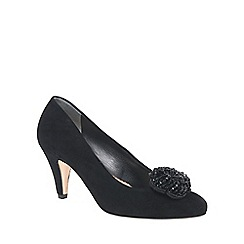 Van Dal - Black 'Magdalen' womens wide fit court shoes