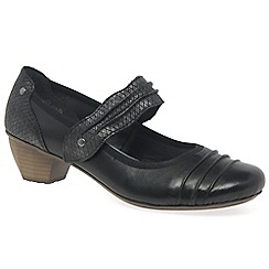 Rieker - Black 'Stage' Womens Court Shoes