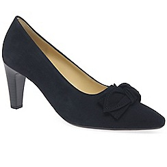 Gabor - Navy 'grange' womens dress court shoes