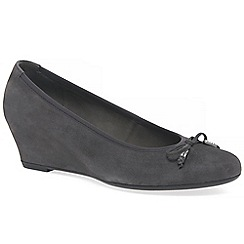 Gabor - Dark grey 'Alvin' women's casual shoes