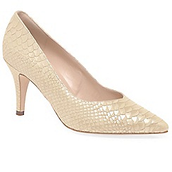 Peter Kaiser - Beige 'Elektra' womens dress court shoes