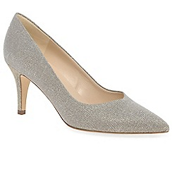Peter Kaiser - Gold 'Ebby' womens dress court shoes