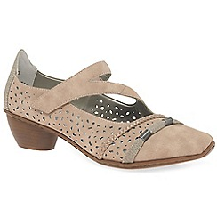 Rieker - Rose 'Morela' womens court shoes