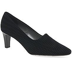 Peter Kaiser - Black 'Mova' womens court shoes