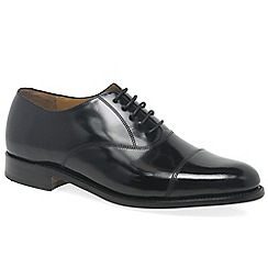 Barker - Black 'Arnold' mens formal lace up shoes