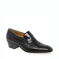 Paco Milan - Black 'Cuba' mens slip on shoes