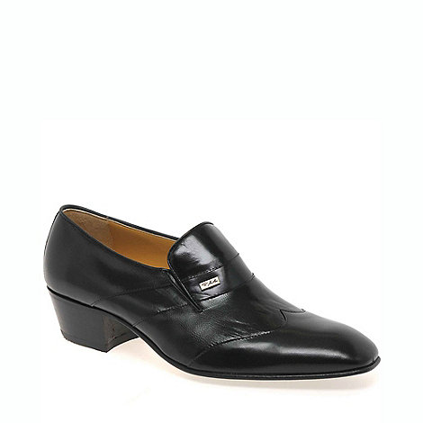 Paco Milan - Black +Cuba+ mens slip on shoes