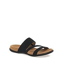 Gabor - Black 'Tomcat' Modern Sporty Sandals