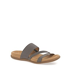 Gabor - Grey 'Tomcat' modern sporty sandals