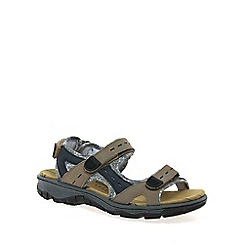 Rieker - Taupe 'Strike' ladies casual trekking sandals