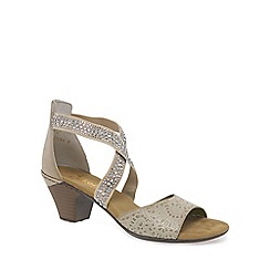 Rieker - Beige 'Flint' Womens Casual Sandals