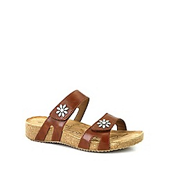 Josef Seibel - Brown 'Tonga' Womens Casual Sandals