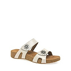 Josef Seibel - White 'Tonga' womens casual sandals