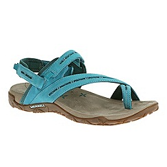 Merrell - Blue 'Terran Convertible' womens blue sandals
