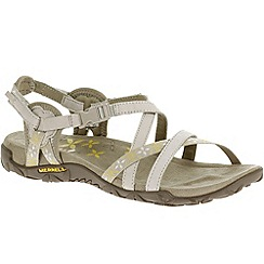 Merrell - Grey 'Terran Lattice' womens sandals