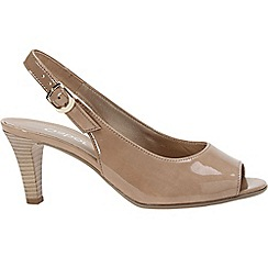 Gabor - Beige 'Rumble' womens modern sandals