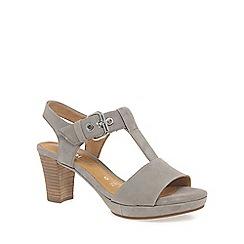 Gabor - Beige 'Clover' Womens Modern Sandals