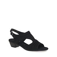 Gabor - Black 'Scrumptious' Modern Womens Sandals