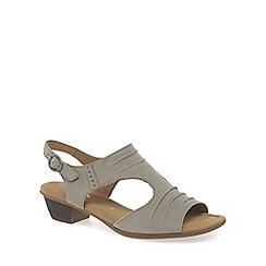 Gabor - Beige 'scrumptious' modern womens sandals