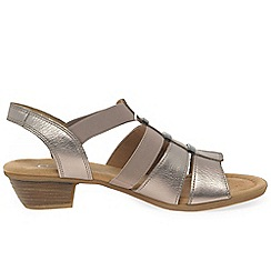 Gabor - Black 'joan' womens modern sandals