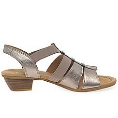 Gabor - Gold 'Joan' womens modern sandals
