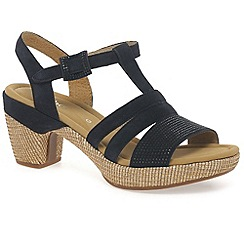 Gabor - Navy 'Sebring' womens modern sandals