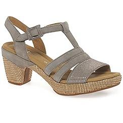 Gabor - Beige 'Sebring' womens modern sandals