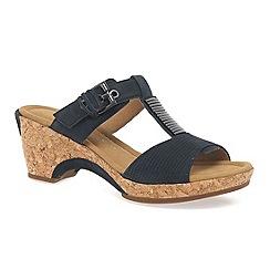Gabor - Navy 'Shannon' modern women's sandals